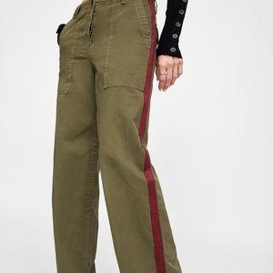 NWT Zara the Worker Straight Pants